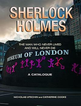 Museum of London Holmes Exhibition catalogue cover